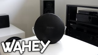 WAHEY C1 BLUETOOTH SPEAKER REVIEW!