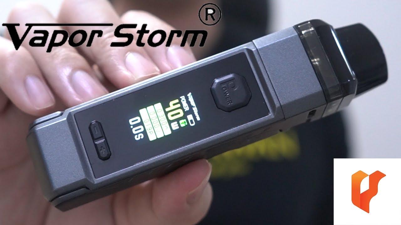 Download รีวิว Mod Pod น้ำหนักโคตรเบา V-PM 40 Kit by Vapor Storm