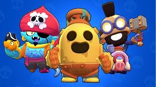 Unlock New Skins Robo Spike, Hog Rider Carl and Pirate Gene | Brawl Stars