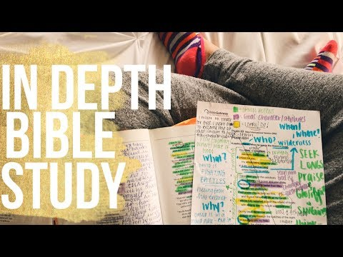 In Depth Bible Study on Psalm 63 - Falling in Love with Jesus (PART 2)