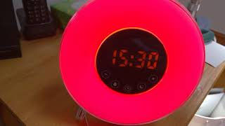Hotweild Sunrise Alarm Clock and Sunset Simulator