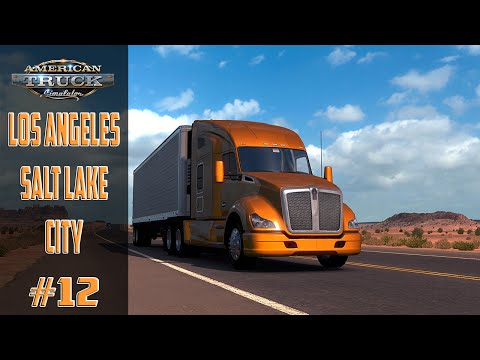 American Truck Simulator #12 Los Angeles   Salt Lake City !