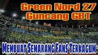 AKSI BONEK DI TRIBUN GREEN NORD PERSEBAYA V PSIS Liga 1 2019
