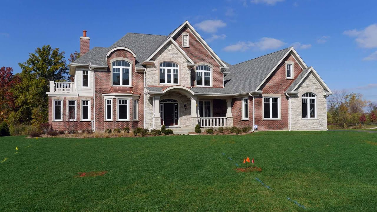 Tour A New Semi Custom Home In The Stevenson School District YouTube