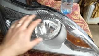 видео * Почему потеют фары у автомобиля *