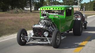 Hot Rod Drag Week 2017 Race Cars On The Road - Day 1