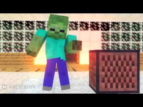 Видео помощник Майнкрафт - Приколы на сервере в гаррис