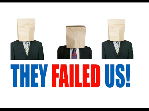 Our Leaders Have FAILED Us!- An Account of a Dying Planet [2/5]- U.S. Politics