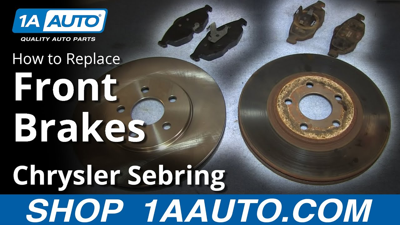 Rear Disc Brake Rotors for 2007 2008 2009 2010 Chrysler Sebring 2.4L 2.7L 3.5L