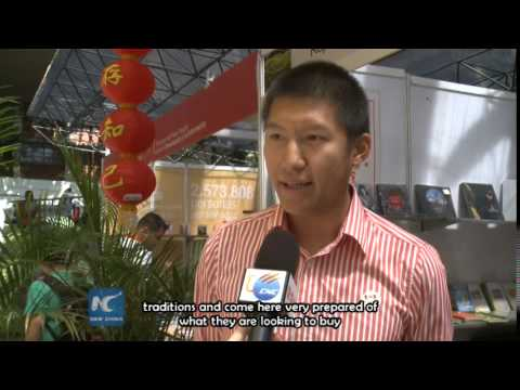 Venezuela Int'l Book Fair attracts Chinese exhibitors