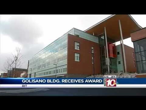RIT on TV: Golisano certified LEED Platinum - on WHEC