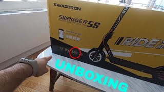 Swagtron Swagger 5 Electric Scooter Unboxing