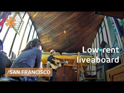 Low-rent liveaboard life in high-rent San Francisco Bay