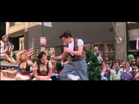 Ferris Bueller cantando Danke Schoen subtitulado al español