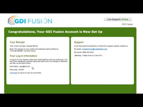 GDI Fusion Video Guide - How to register in GDI Fusion - Refer 3 and it's FREE