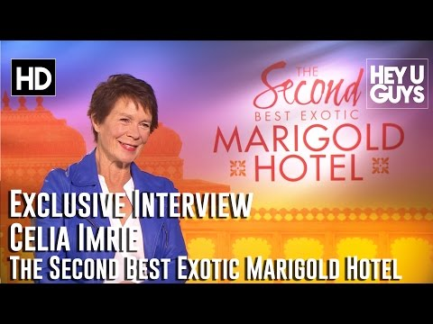 Celia Imrie Exclusive Interview - The Second Best Exotic Marigold Hotel