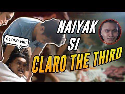 HINDI MAKAHINGA SI CLARO THE THIRD  VLOG 8
