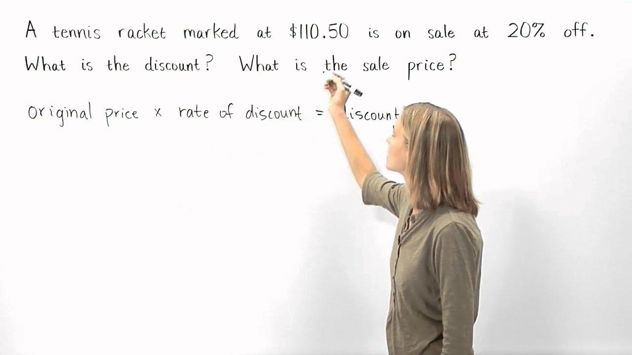 Download Discount Formula | MathHelp.com