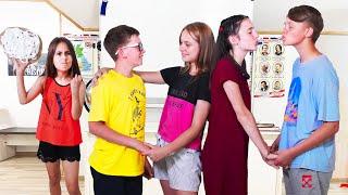¡El corazón de Eva está roto! ¡Sava y Max se enamoraron de las chicas de secundaria!
