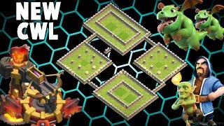 CLAN WAR LEAGUES TOP TH11 NEW BEST WAR BASE (Layout) || Clash of clans War Base
