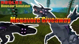 Megavore Giveaway! - Roblox Dinosaur Simulator