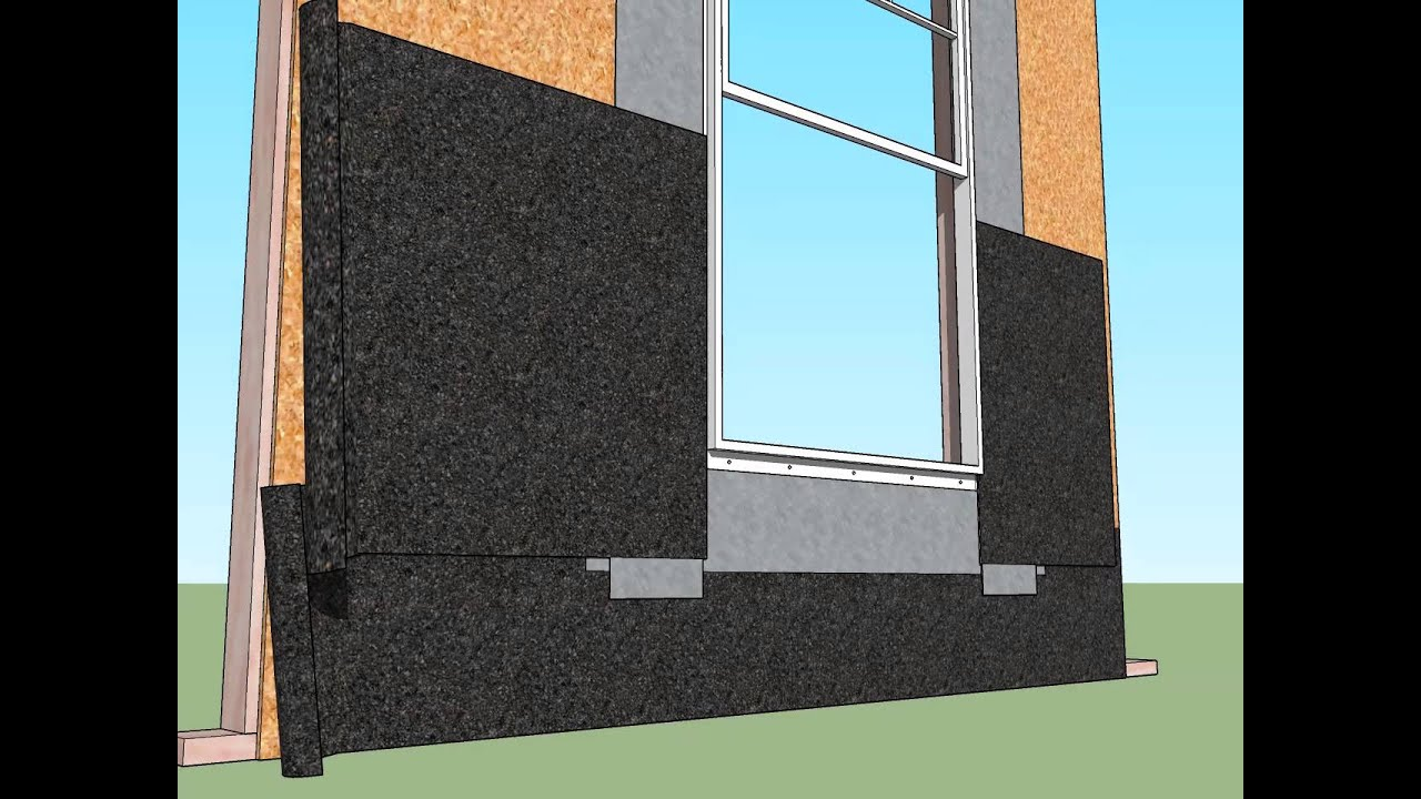 Mounting Flange Window Installation Lap Siding Youtube
