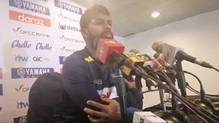 Day 3 Post Match Press with Niroshan Dickwella - 1st Test, Sri Lanka v New Zealand