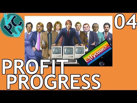 Profit Progress : Computer Tycoon EP04 - Grand Strategy Tycoon PC Manufacturer