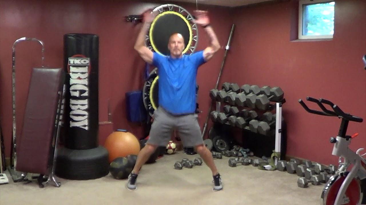 jumping jacks. https://www.myofitness.com/ - YouTube