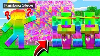 RAINBOW STEVE CORRUPTED MY PE WORLD!