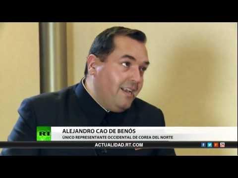 Entrevista con Alejandro Cao de Benós,  único representante occidental de Corea del Norte