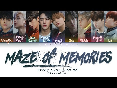 Stray Kids - Maze of Memories (잠깐의 고요) (Color Coded Lyrics Eng/Rom/Han/가사)