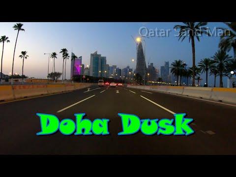 #Driving through #Doha, #Qatar at #Dusk
