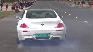 G-POWER BMW M6 V10 w/ KKS Exhaust + BMW M6 V10 w/ Eisenmann Race Exhaust!