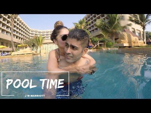 Pool Time | JW Marriott Mumbai