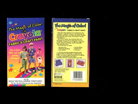 The Magic of Color! with Crayola Fabric and Craft Paint (1993)