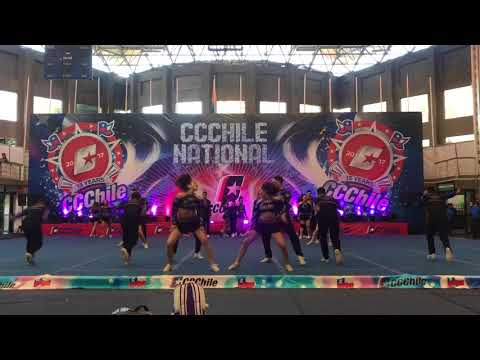 Twister Black divas CCChile 2017  1 LUGAR OLCN4