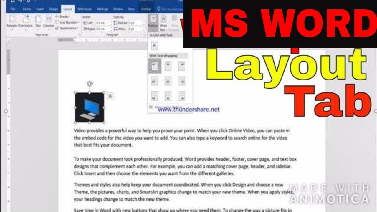 wordpad layout tab change wordpad layout learn wordpad part 5