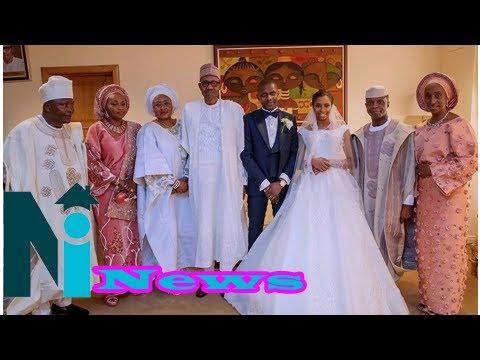 Download President Buhari, top dignitaries attend Osinbajo's daughter's wedding in Abuja