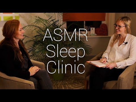 😴 Relaxing REAL ASMR Sleep Clinic Appointment 😴