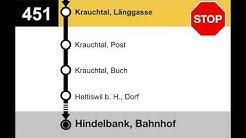 PostAuto Ansagen - 451 - Bolligen-Krauchtal-Hindelbank