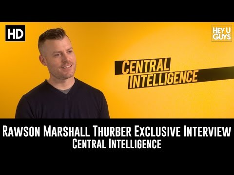 Director Rawson Marshall Thurber Exclusive   Central Intelligence
