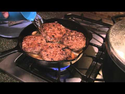 Hamburger Steak Southern Style