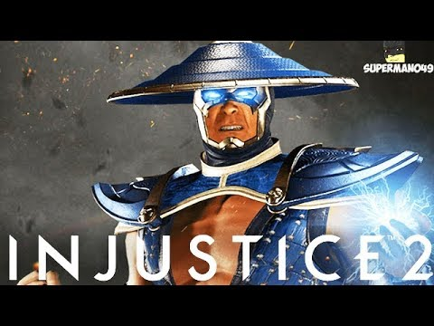 "Injustice 2: New Raiden Story! - Injustice 2 ""Raiden"" DLC New Back Story"