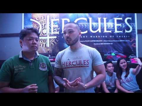 Interview with Polo Ravales of Hercules Musical