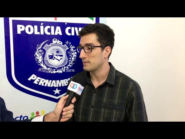 Entrevista com o delegado de Itambé, Victor Meira