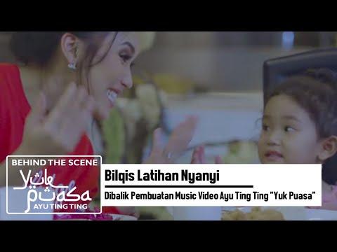 Bilqis Latihan Nyanyi  | Dibalik Pembuatan Music Video Ayu Ting Ting