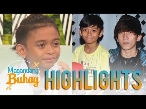 Magandang Buhay: Keifer Sanchez turns emotional as he shares his touching message to his family
