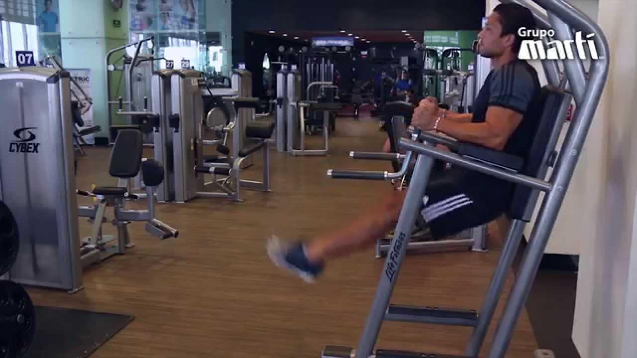 Elevacion de rodillas beneficios