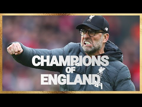 We Are rpool Champions of England